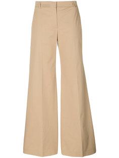 широкие брюки Burberry