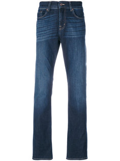 stonewashed regular jeans 7 For All Mankind