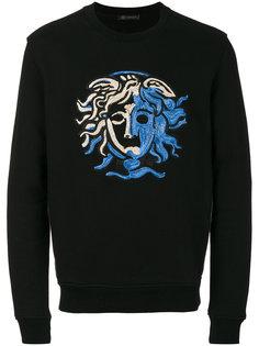 Coloured Medusa sweatshirt Versace