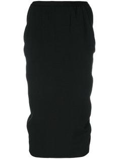 мягкая юбка Pillar Rick Owens