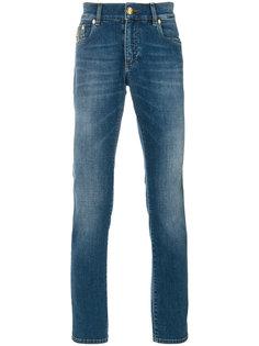 джинсы с вышивкой Billionaire