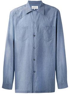 свободная рубашка в стиле вестерн Maison Margiela