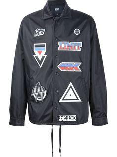 куртка с заплатками KTZ