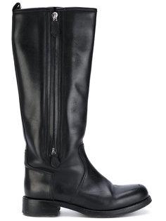 knee-length boots Hermès Vintage