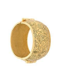 коллекционный браслет с мавританским узором Yves Saint Laurent Vintage