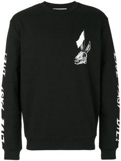 skull print sweatshirt McQ Alexander McQueen