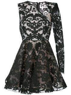 платье Rhys со смещенным вырезом Alex Perry