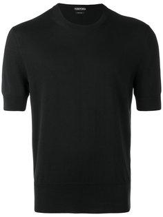 вязаная футболка с короткими рукавами Tom Ford