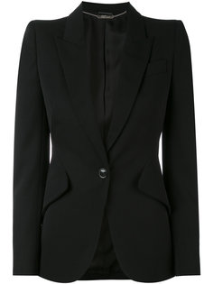 пиджак на одну пуговицу Alexander McQueen