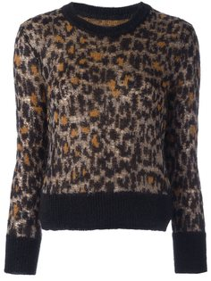 пуловер с леопардовым узором Isabel Marant