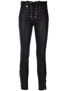 cropped lace-up trousers Manokhi