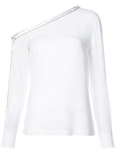асимметричная блузка с длинными рукавами Yigal Azrouel