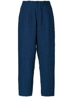 denim cropped trousers Blue Blue Japan