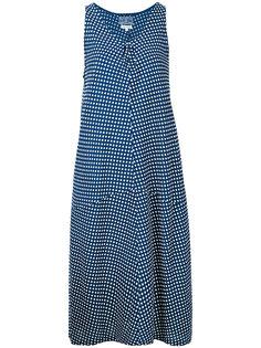 polka dot dress Blue Blue Japan