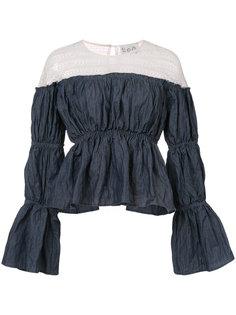 блузка с открытыми плечами Sea