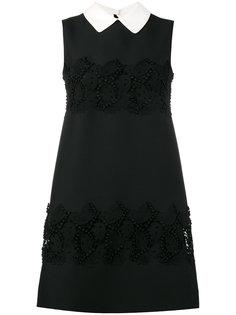 платье А-силуэта с вышивкой Valentino