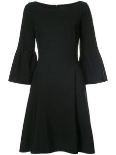 платье с рукавами клеш J. Mendel