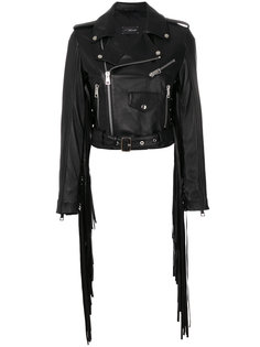 fringed cropped jacket Manokhi