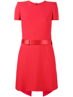 платье-мини с короткими рукавами Alexander McQueen