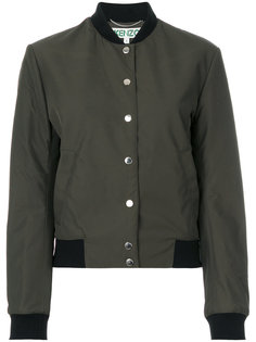 куртка-бомбер с вышивкой тигра Kenzo