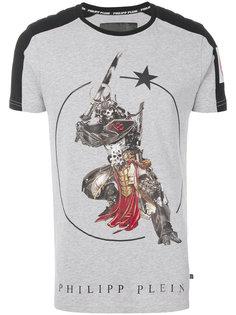 футболка с принтом война Philipp Plein