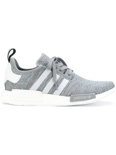 contrast lace up trainers  Adidas Originals