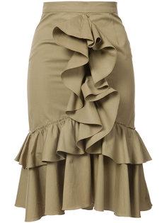 юбка с оборкой  Tome