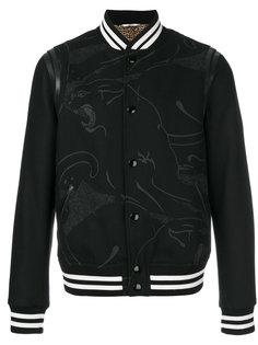 куртка-бомбер с принтом пантеры Valentino