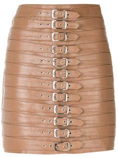belt embellished short skirt Manokhi