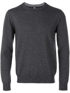 round neck plain sweatshirt  Eleventy