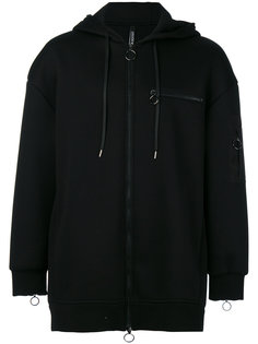 zipped hoodie Neil Barrett