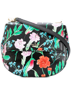 floral saddle bag Kate Spade