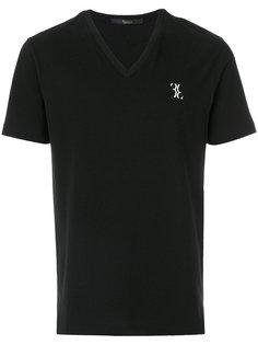 футболка с V-образным вырезом Billionaire
