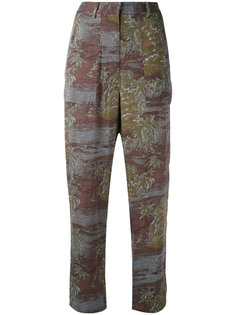 printed high waisted trousers Vanessa Bruno Athé