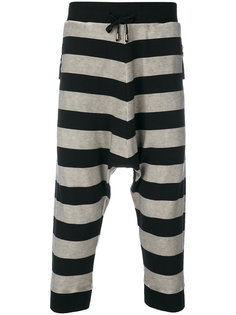 striped harem trousers Unconditional
