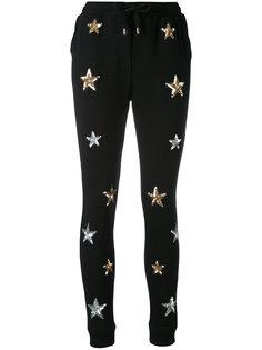 спортивные брюки с нашивками-звездами  Zoe Karssen