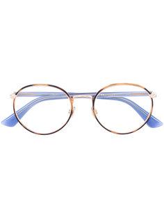 очки в круглой оправе в стиле ретро  Dior Eyewear