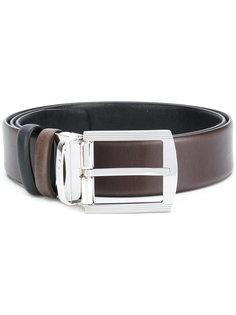 two-tone belt Kiton