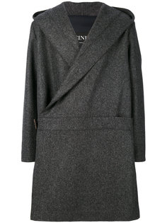 wrap front coat Cini