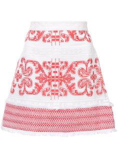 юбка с вышивкой  Alexis