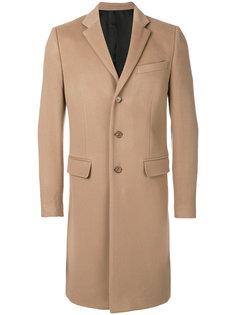 классическое однобортное пальто Givenchy