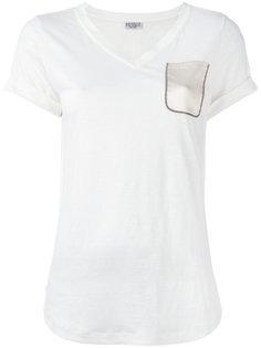 футболка с V-образным вырезом Brunello Cucinelli