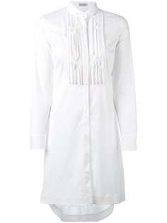 удлиненная рубашка Brunello Cucinelli