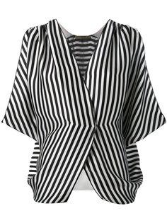 полосатая блузка с запахом  Etro