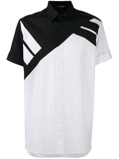 рубашка в полоску с короткими рукавами Neil Barrett