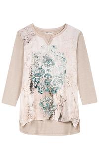 Асимметричная блузка с принтом Betty Barclay
