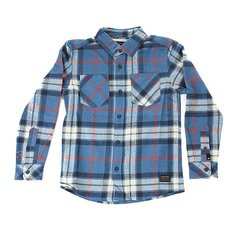 Рубашка в клетку детская Quiksilver Fitz Thrower yth Star Sap