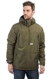 Анорак K1X Urban Hooded Halfzip Green