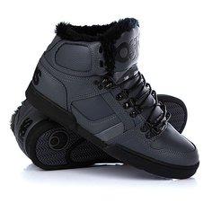 Кеды кроссовки утепленные Osiris Nyc 83 Shr Charcoal/Black/Black