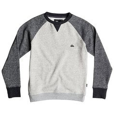 Толстовка свитшот детская Quiksilver Rionegro Youth Otlr Light Grey Heather